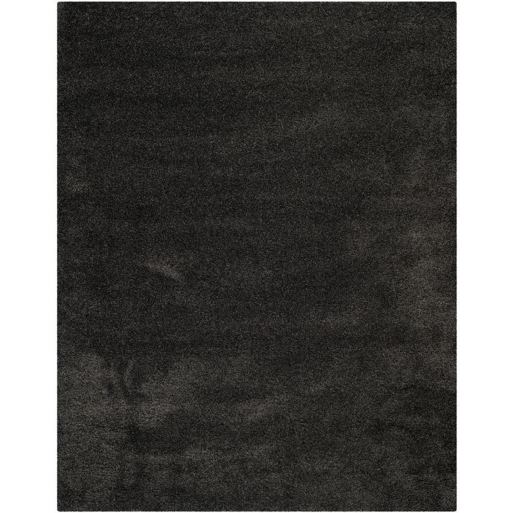 Safavieh Milan Shag Dark Gray 8 Ft X 10 Ft Area Rug