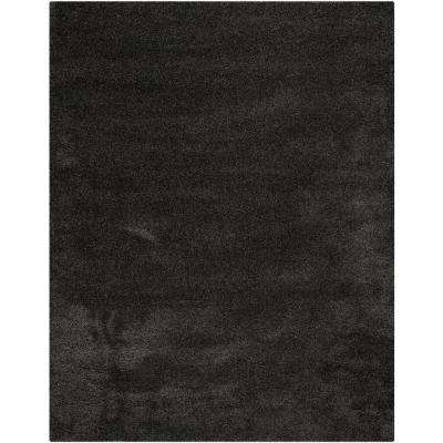 Milan Shag Dark Gray 8 ft. x 10 ft. Area Rug