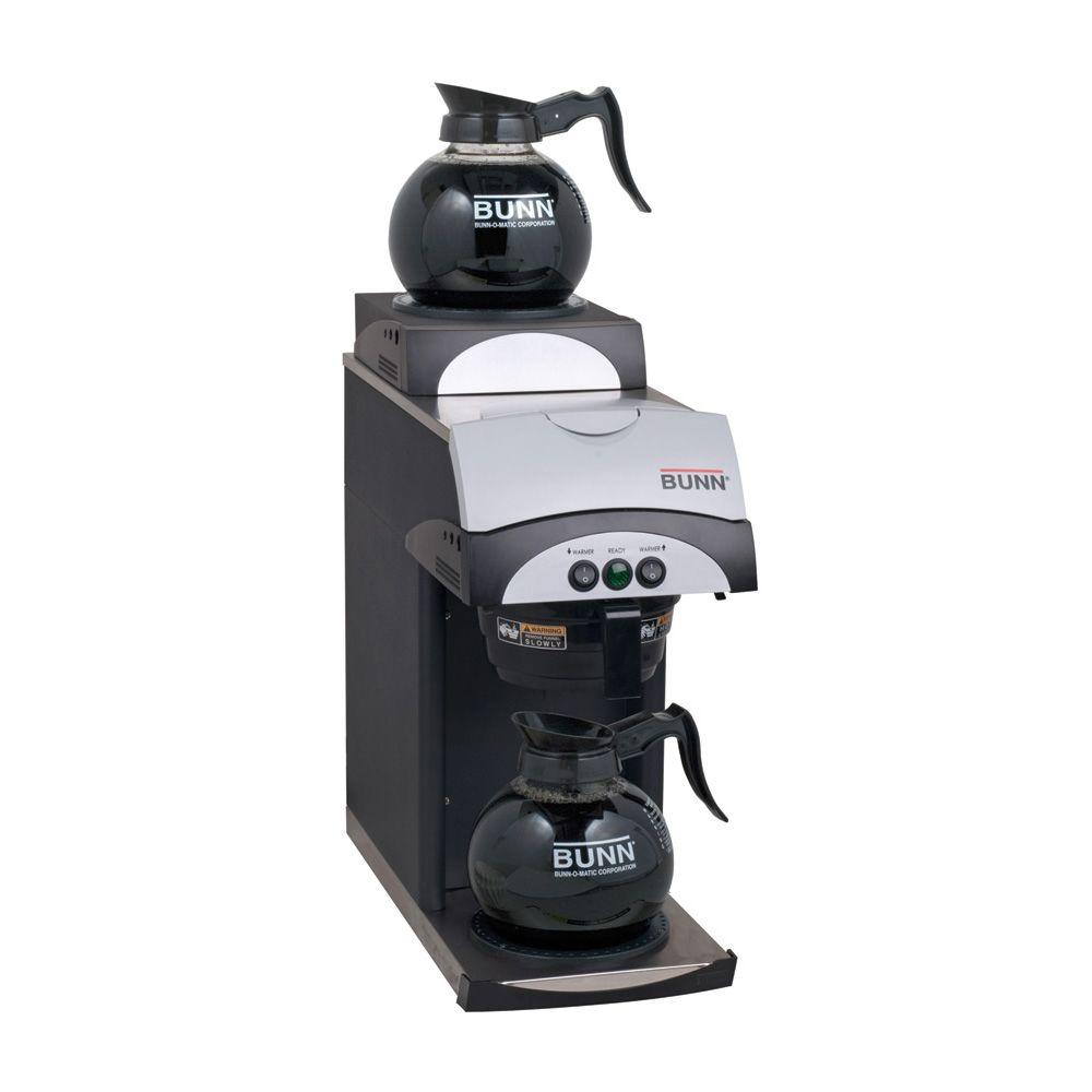 Bunn Pourover Coffee Brewer with 2 Warmers-DISCONTINUED