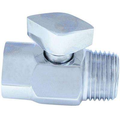 Temporary Shower Shut-Off Valve, Chrome