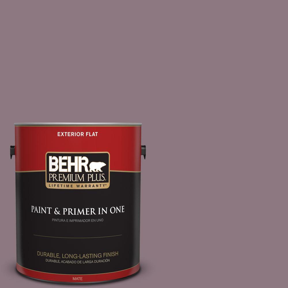 1-gal. #BNC-20 Purple Rubiate Flat Exterior Paint