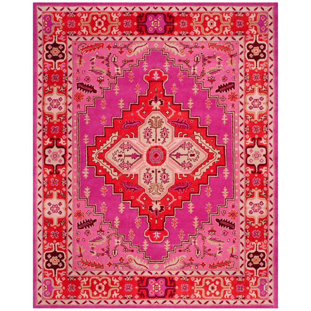 Safavieh Bellagio Red/Pink 8 Ft. X 10 Ft. Area Rug-BLG545B
