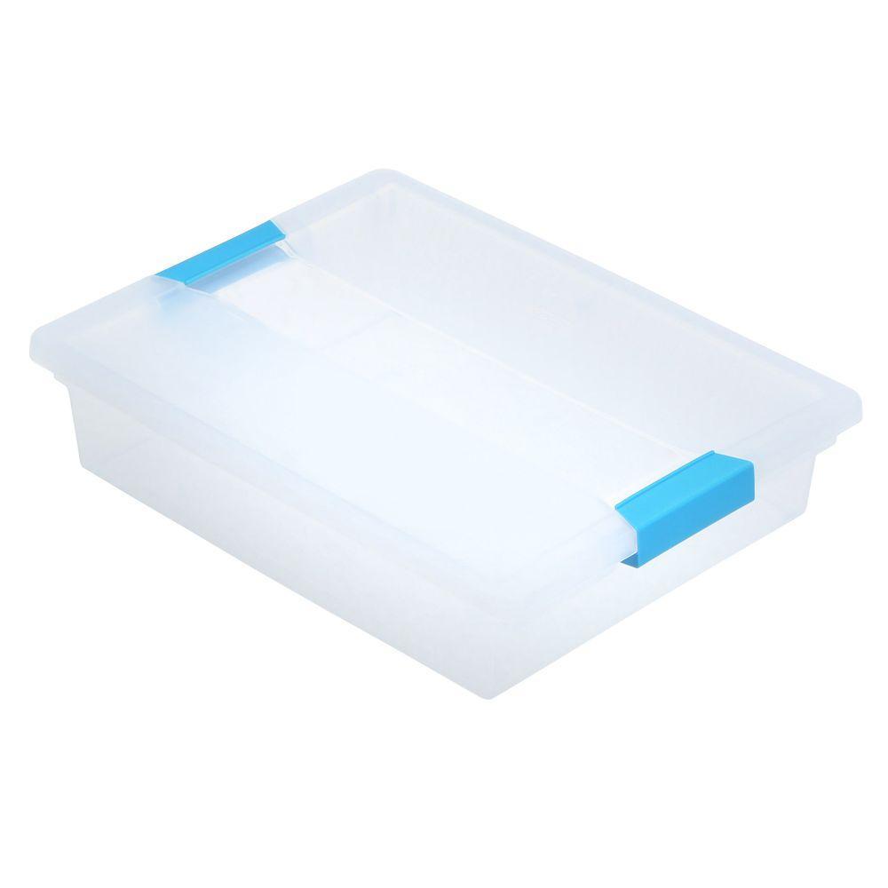 Sterilite 5.5 Qt. Large Clip Box
