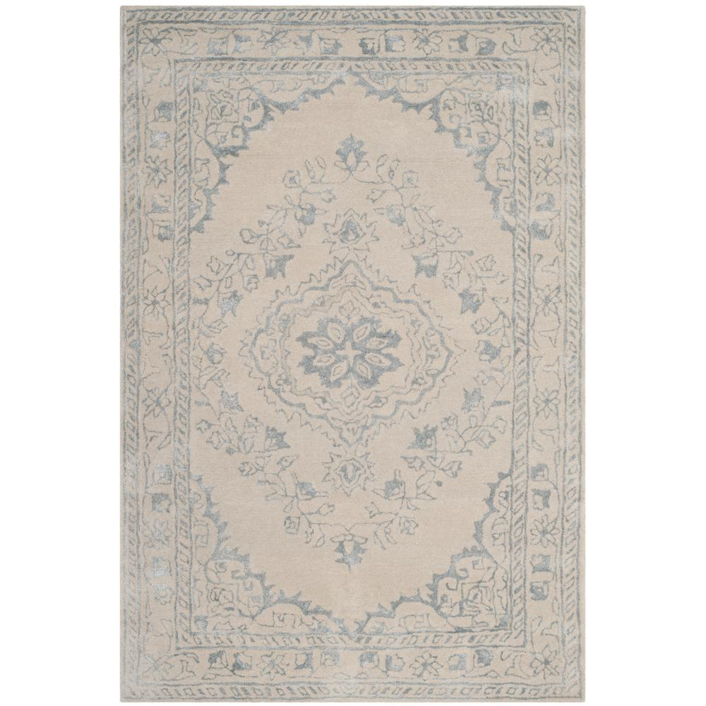 Glamour Light Gray 4 ft. x 6 ft. Area Rug