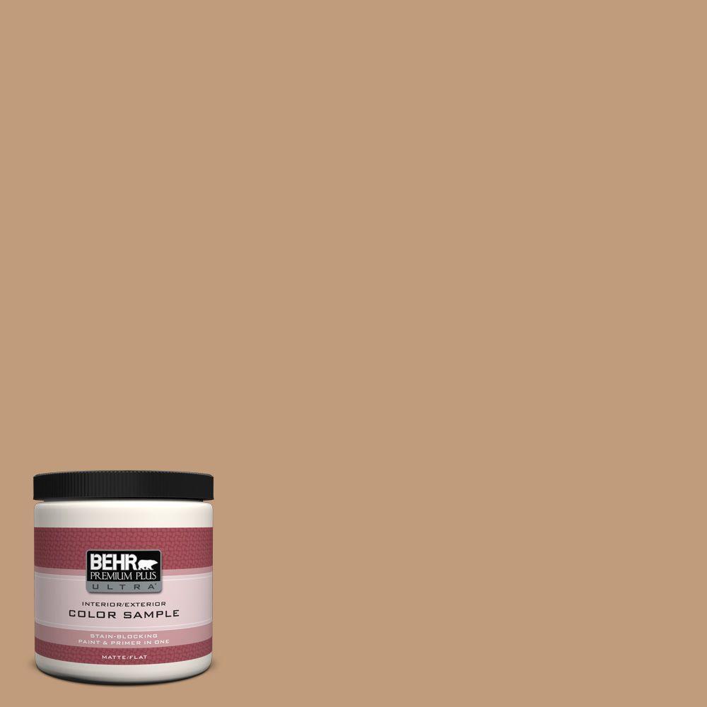BEHR Premium Plus Ultra 8 oz. #PPU4-6 Teatime Interior/Exterior Paint Sample