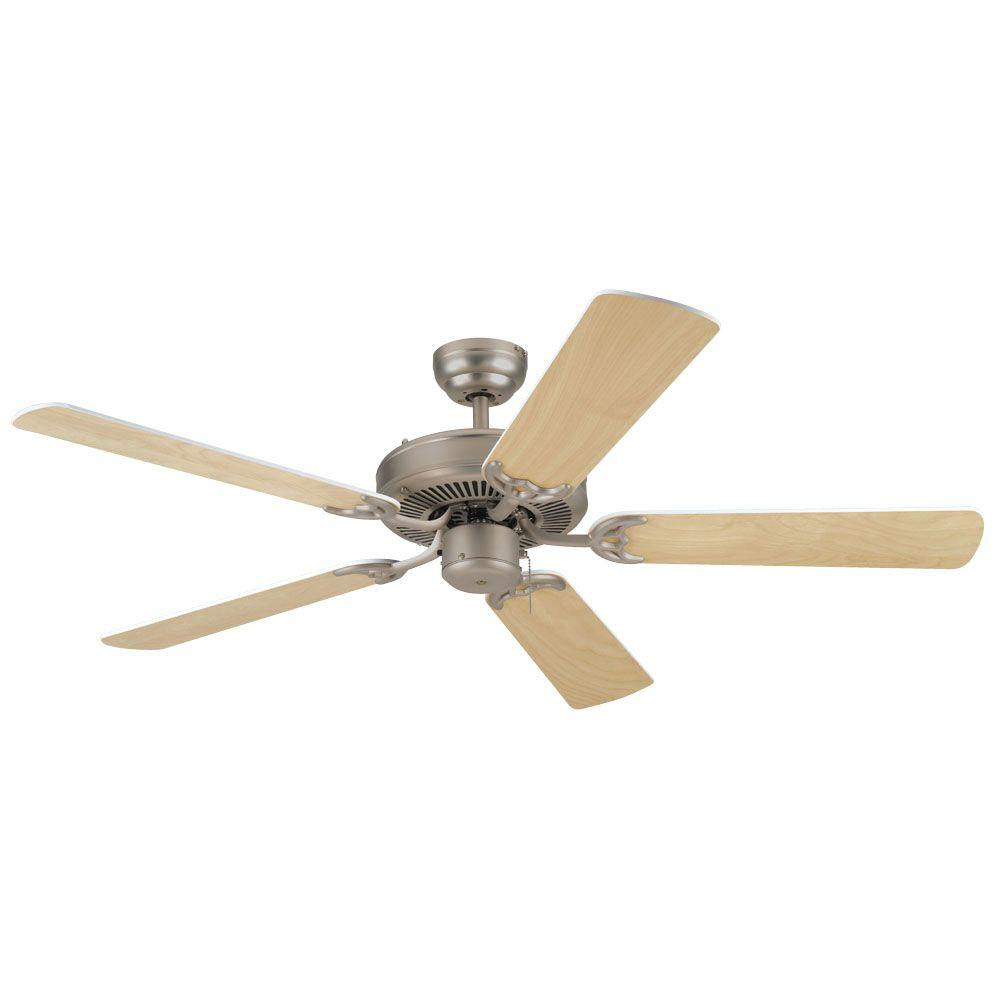 Westinghouse Contractors Choice 52 in. Brushed Pewter Ceiling Fan