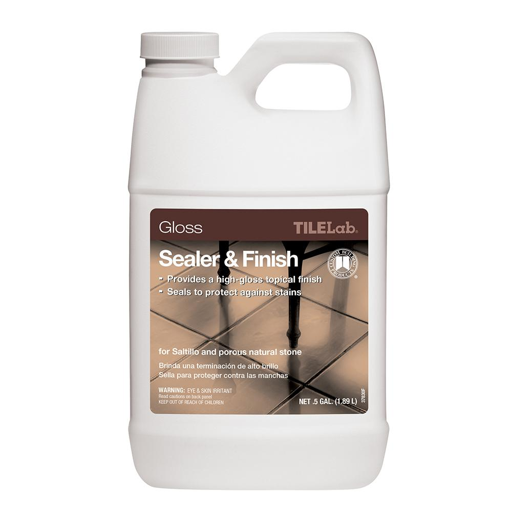 Custom Building Products Tilelab 1 2 Gal Gloss Sealer And Finish