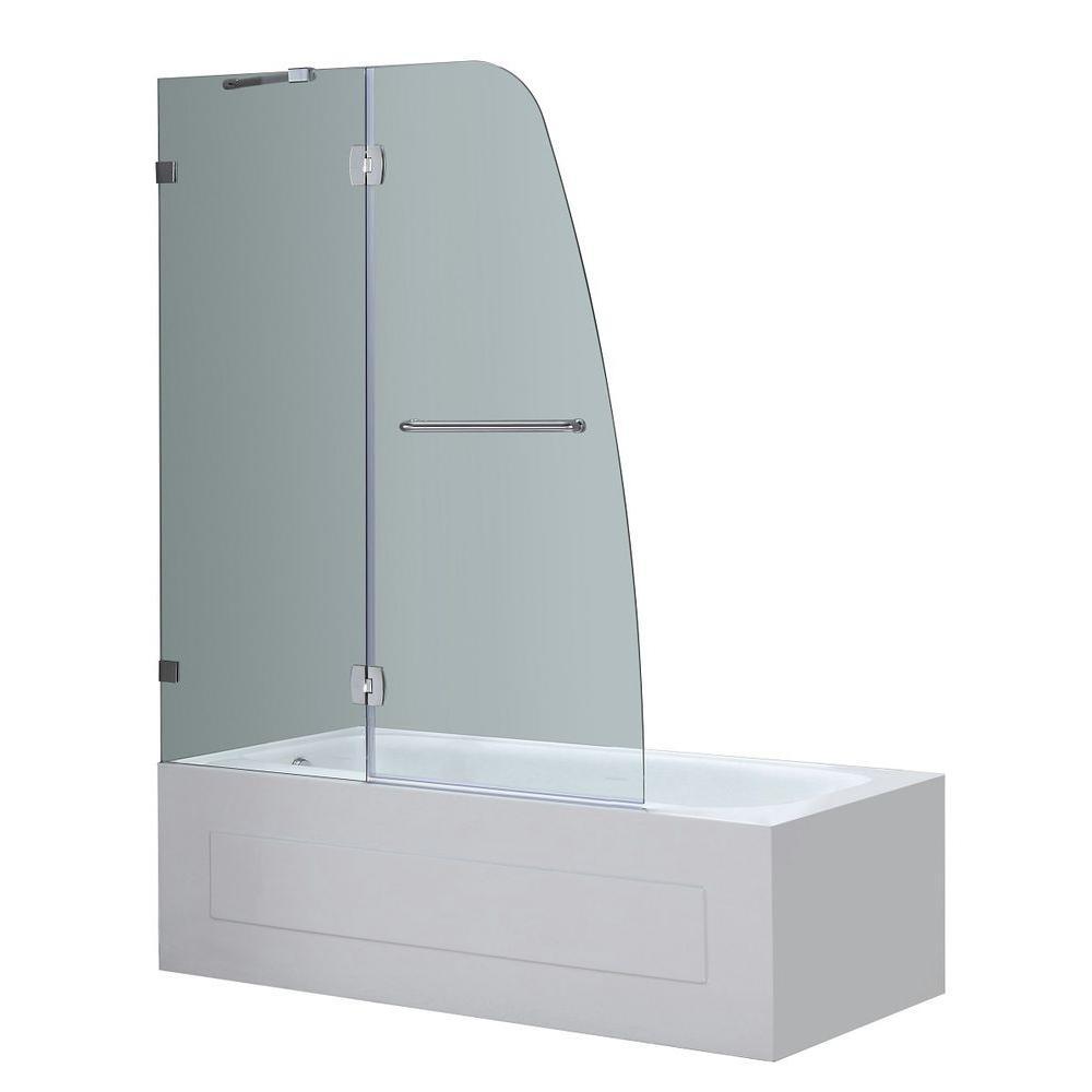 Stainless Steel - Bathtub Doors - Bathtubs - The Home Depot