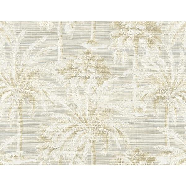 Kenneth James Dream Of Palm Trees Sand Texture Wallpaper Sample PS40005SAM