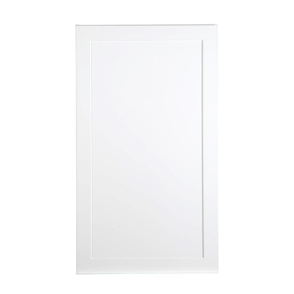 Cambridge Assembled 24x42x12.5 in. Wall Cabinet in White