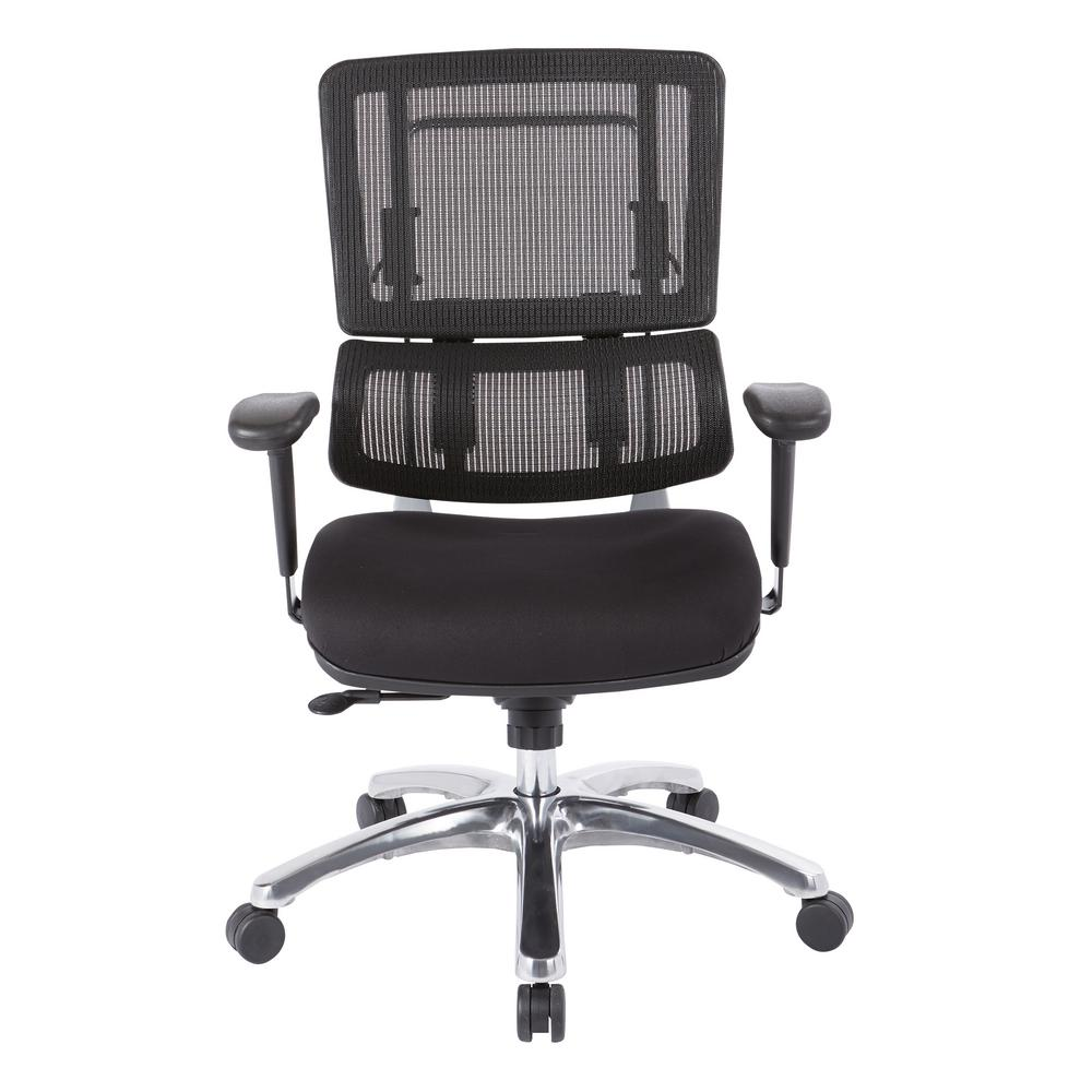 Pro Line Ii Black Mesh Vertical Back Office Chair 99662c 30 The