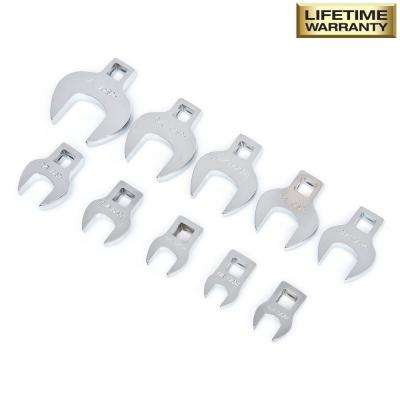 SAE Crowfoot Set (10-Piece)