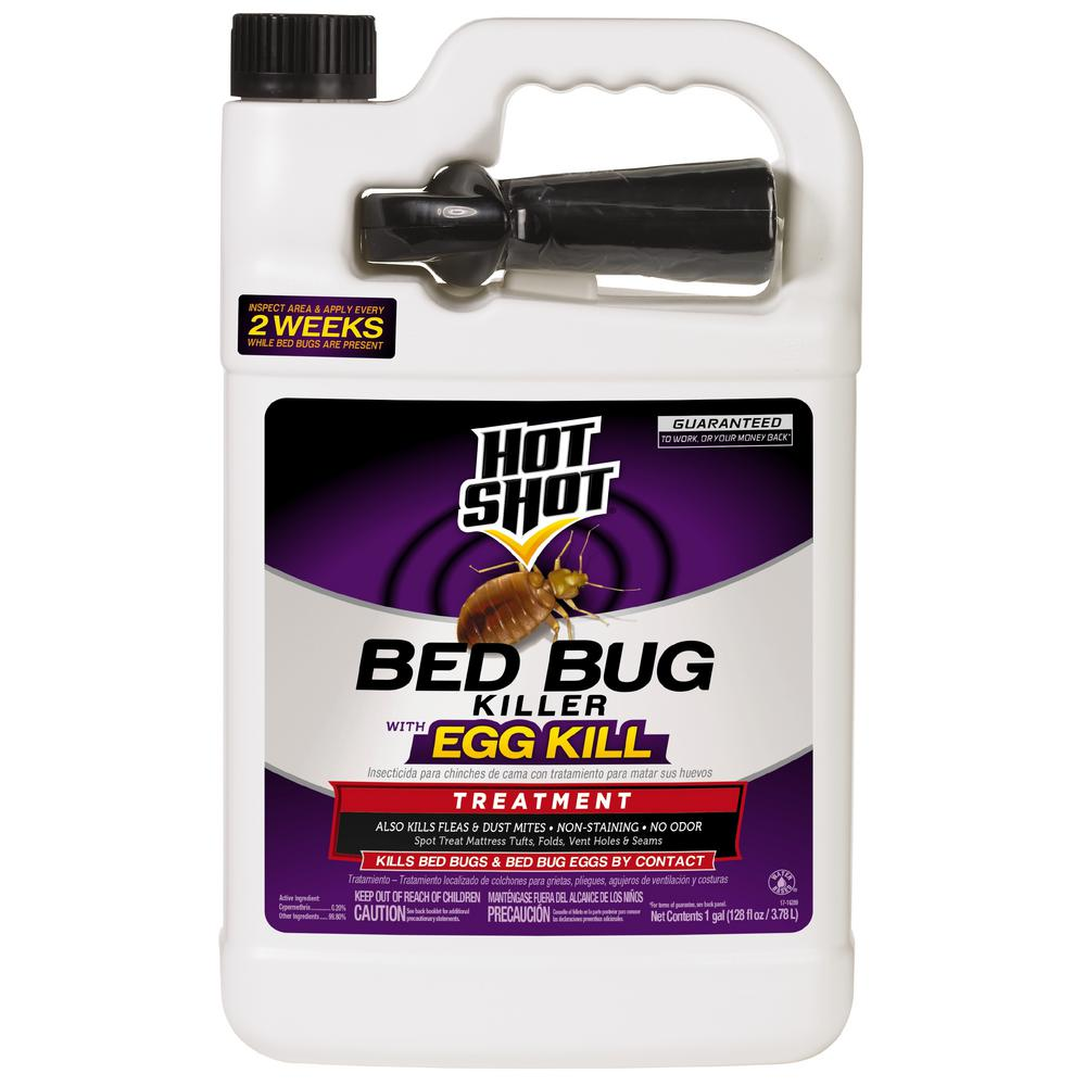 Hot Shot Bed Bug Killer 1 Gal Ready To Use Treatment With Egg Kill