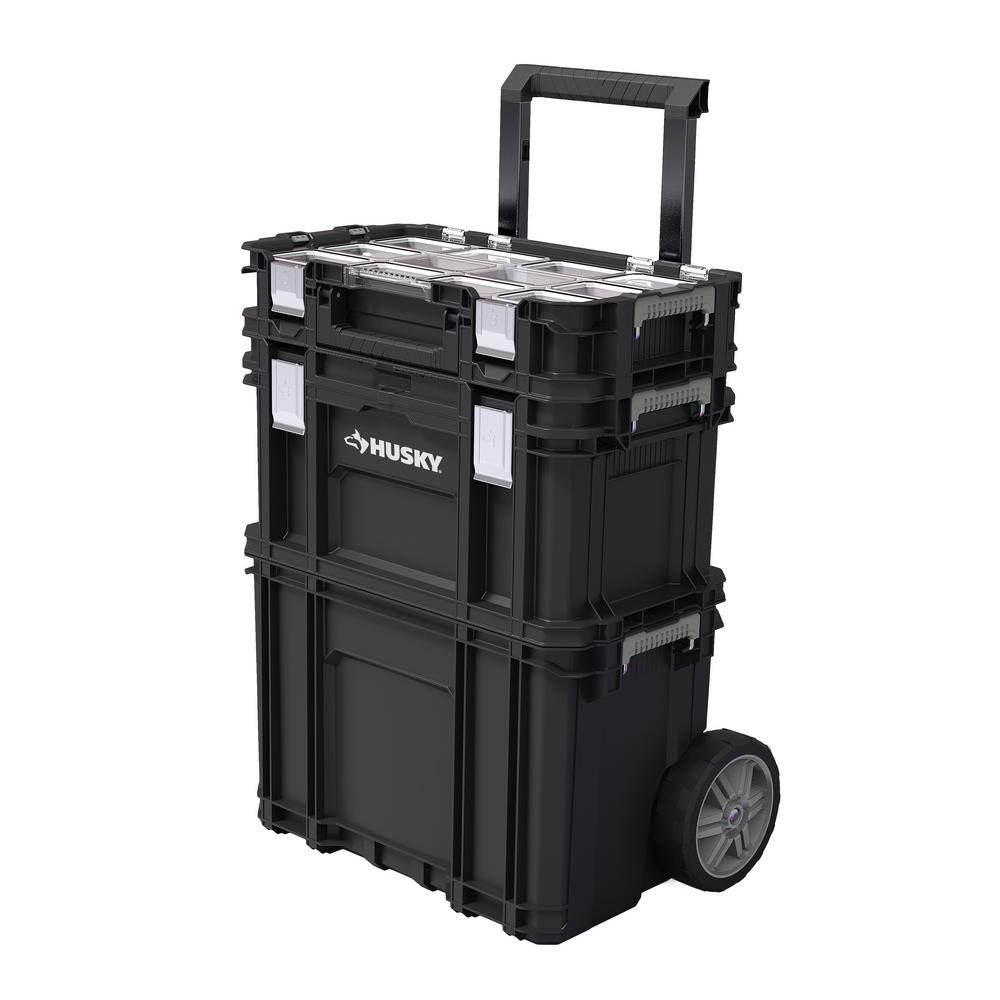 Ordinary Rolling Storage Containers With Handle Part - 4: Connect Rolling System Tool Box