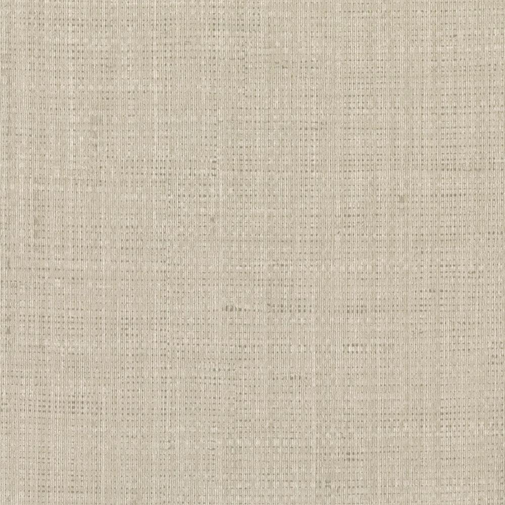 Printed Grasscloth Wallpaper: Brewster Jonus Taupe Faux Grasscloth Wallpaper-2741-6010