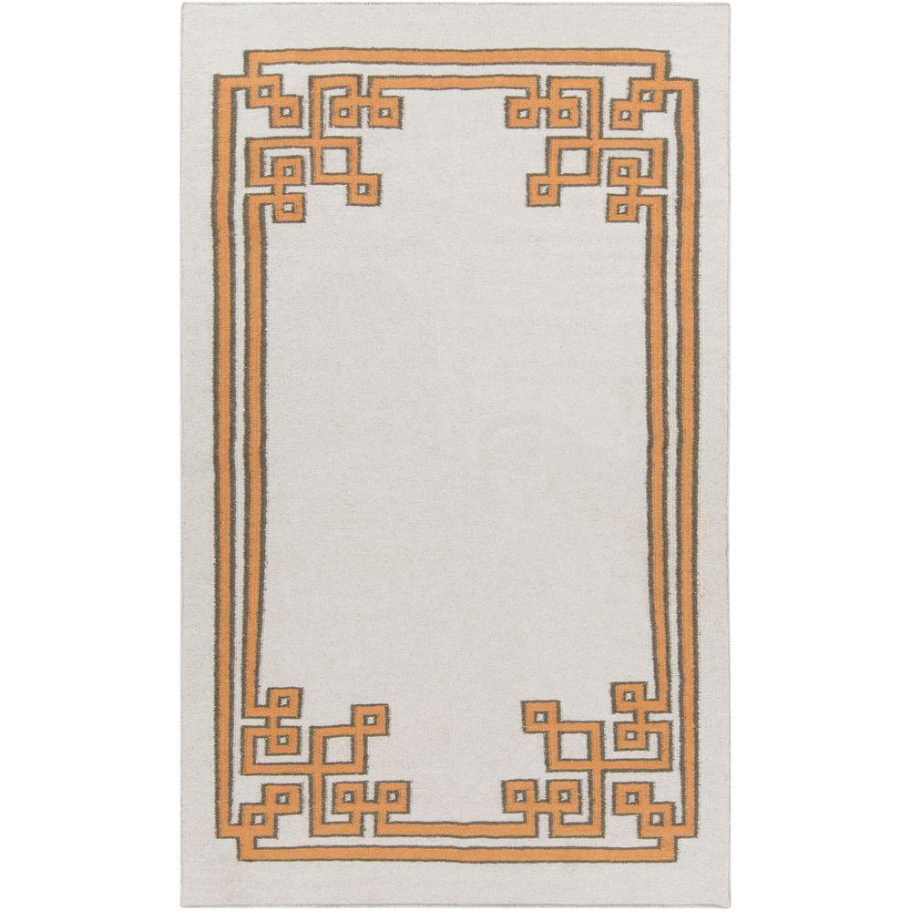 Abdera Beige 5 ft. x 8 ft. Indoor Area Rug