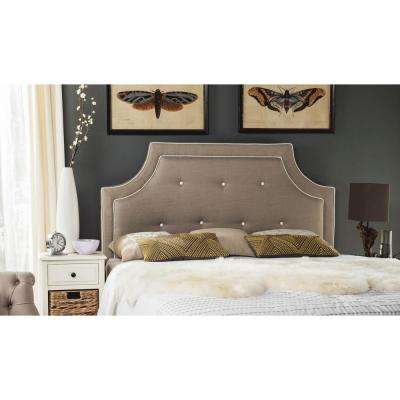 Tallulah Smoke Queen Headboard