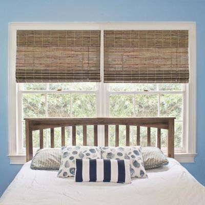 bamboo collection maple cape product roman blinds home radiance free finish shade garden cod