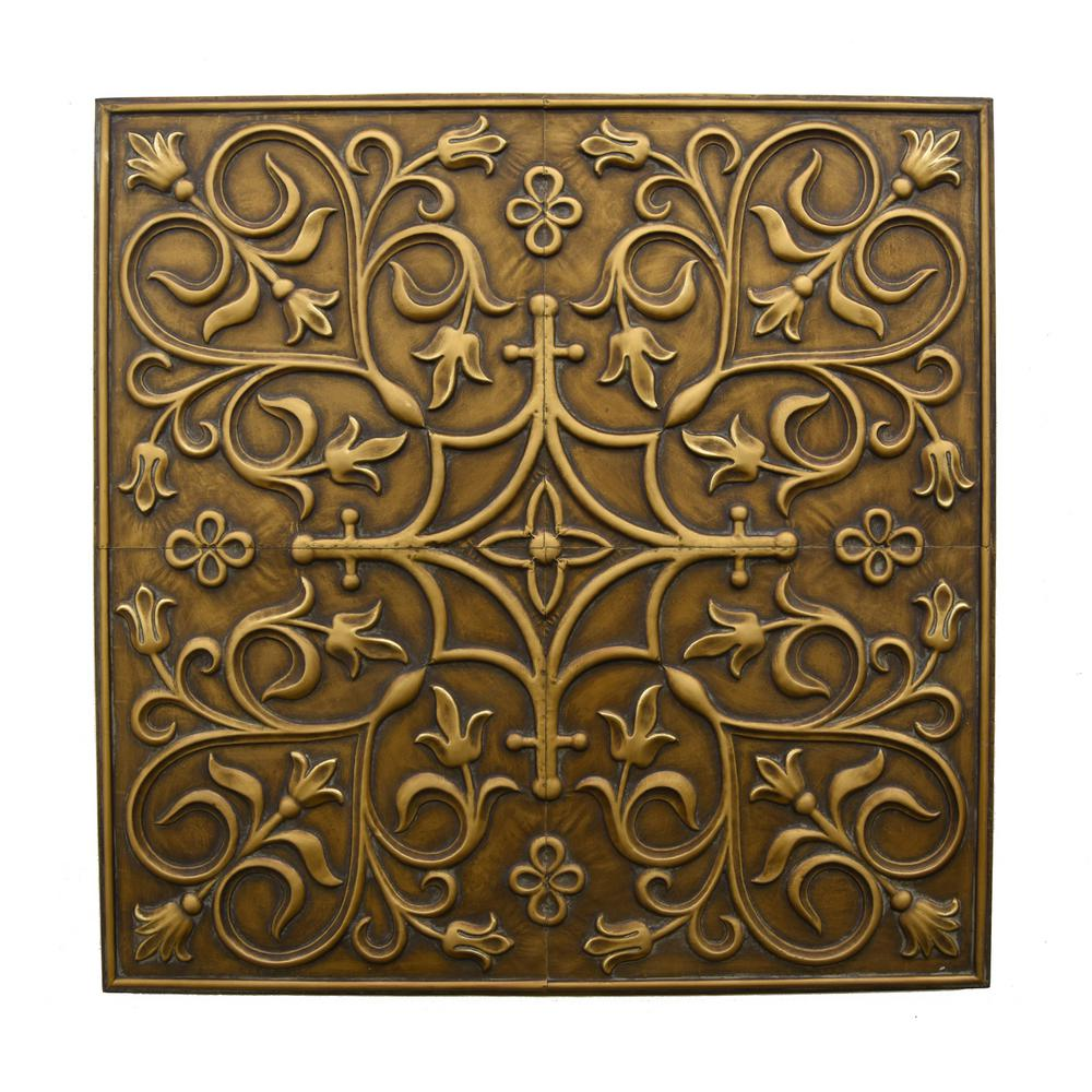 Bronze Metal Wall Art