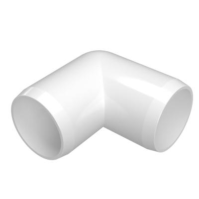 1 in. Furniture Grade PVC 90-Degree Elbow in White (4-Pack)