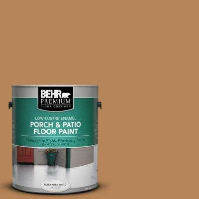 1 gal. #S270-6 Almond Brittle Low-Lustre Porch and Patio Floor Paint