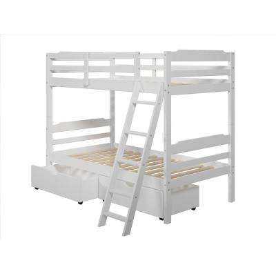 Hayden Twin Over Twin Wood Bunk Bed