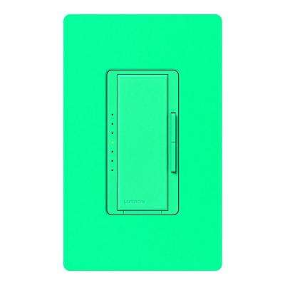 Maestro Dimmer for Incandescent and Halogen, 1000-Watt, Single-Pole/3-Way/Multi-Location, Turquoise
