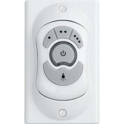 Indoor Ceiling Fan Wall Control, White