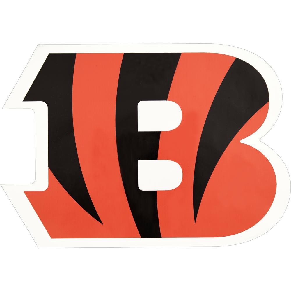 NFL Cincinnati Bengals Outdoor Logo Graphic- Large