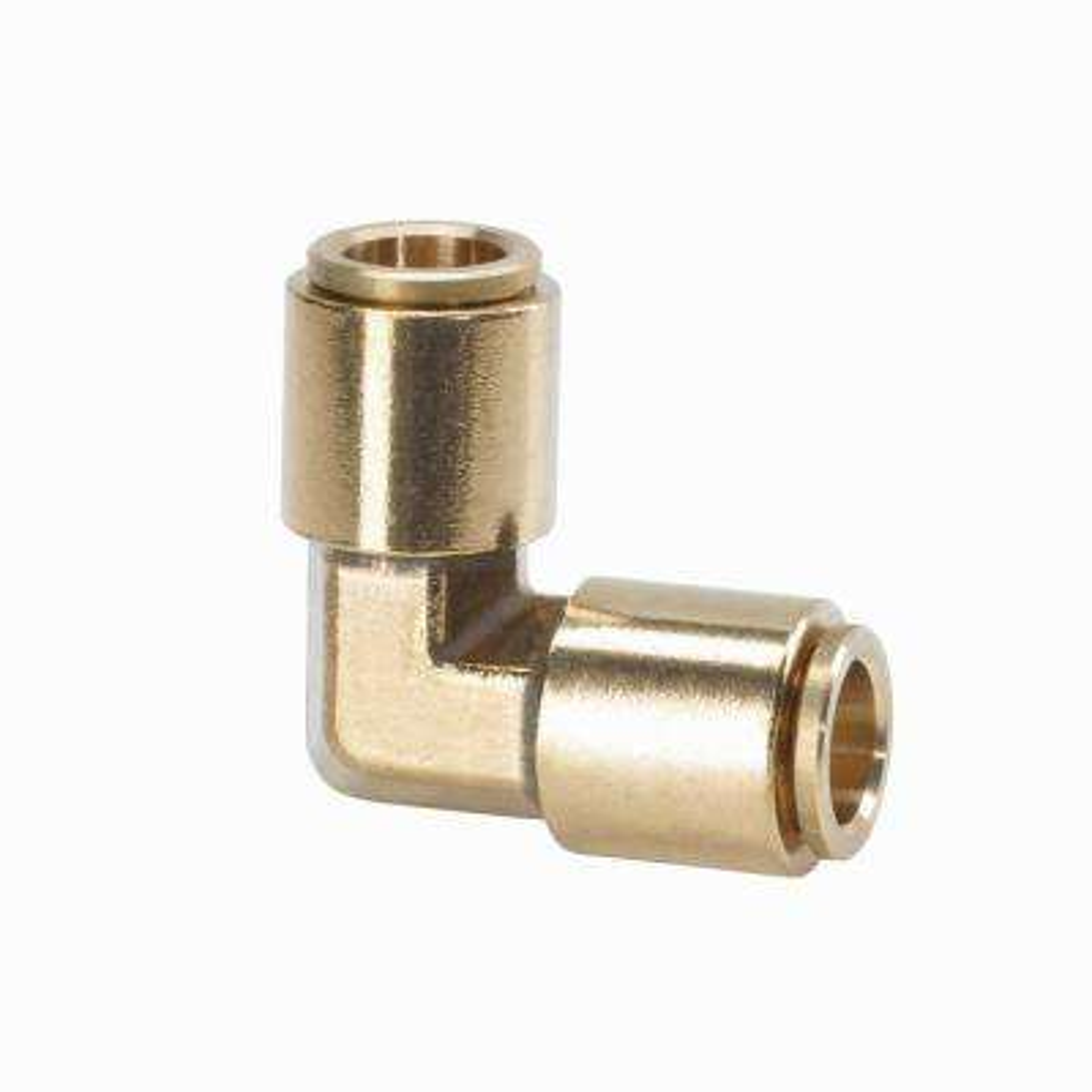 3/8 in. Brass Slip Lock Elbow Connector