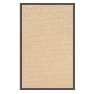 Athena Natural and Slate 9 ft. 10 in. x 13 ft. Area Rug
