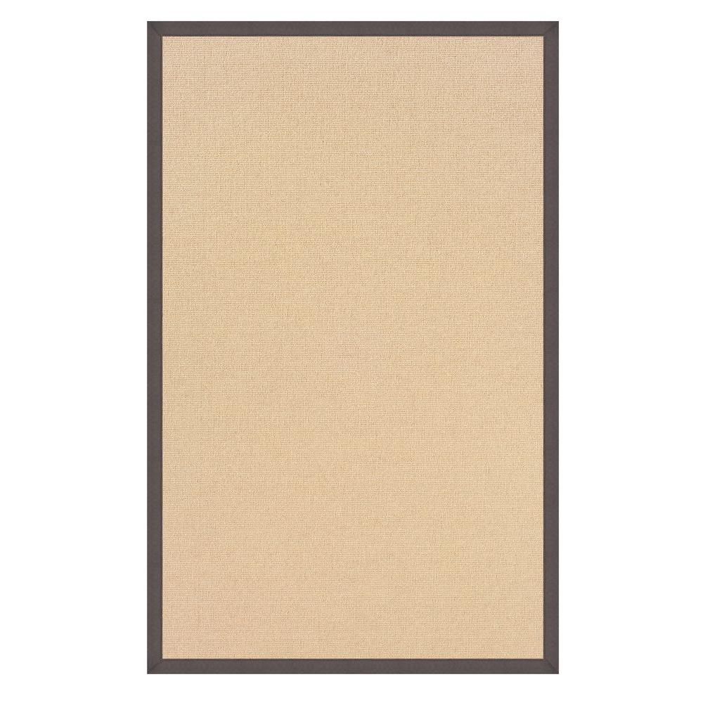 Linon Home Decor Athena Natural and Slate 1 ft. 10 in. x 2 ft. 10 in. Area Rug