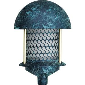 Filament Design Corbin 1-Light Verde Green Round Top Outdoor Pagoda Pathway... by Filament Design