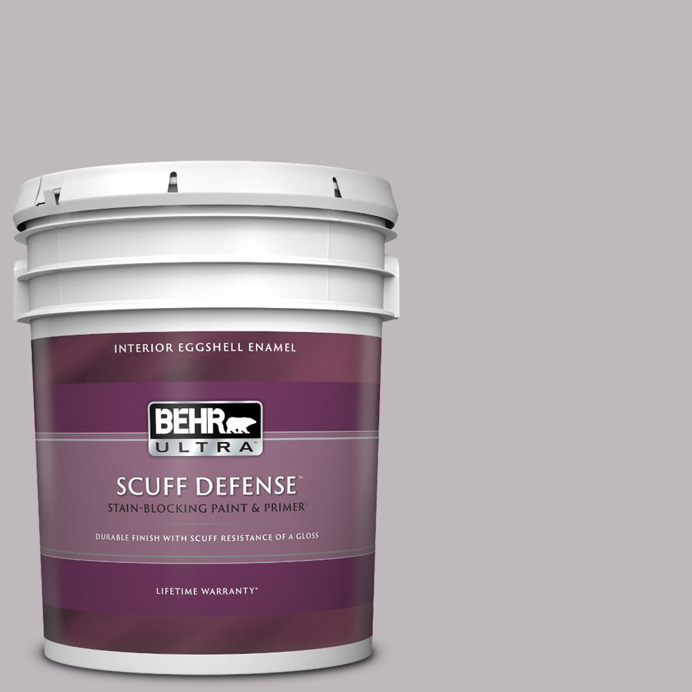 Behr Ultra 5 Gal N570 2 Standing Ovation Extra Durable Eggshell Enamel Interior Paint And Primer In One 275405 The Home Depot