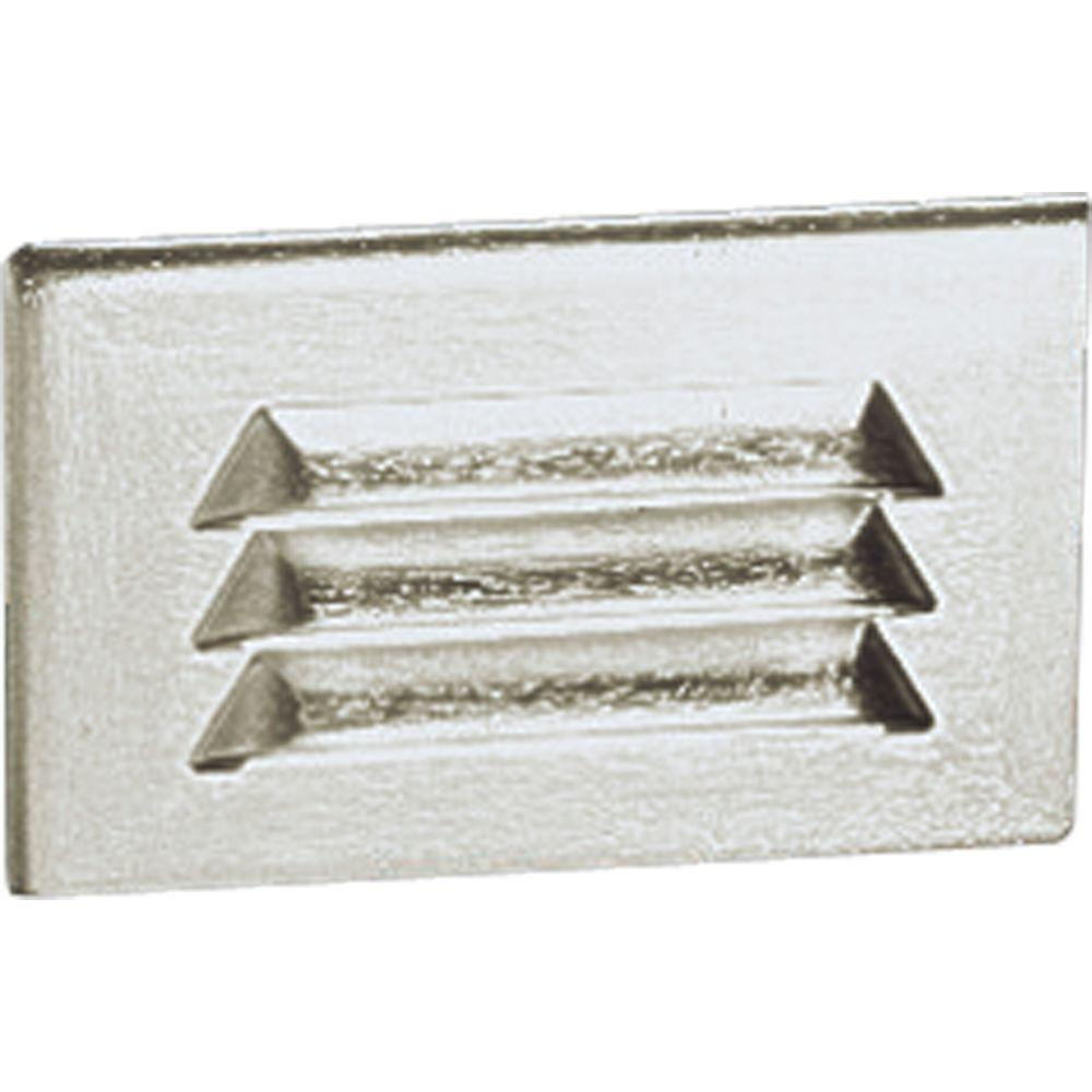 1-Light Satin Aluminum Step Light