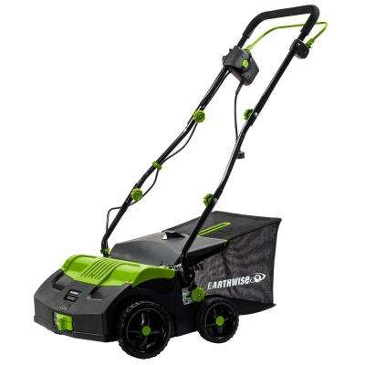 16 in. 13 Amp Corded Electric Dethatcher