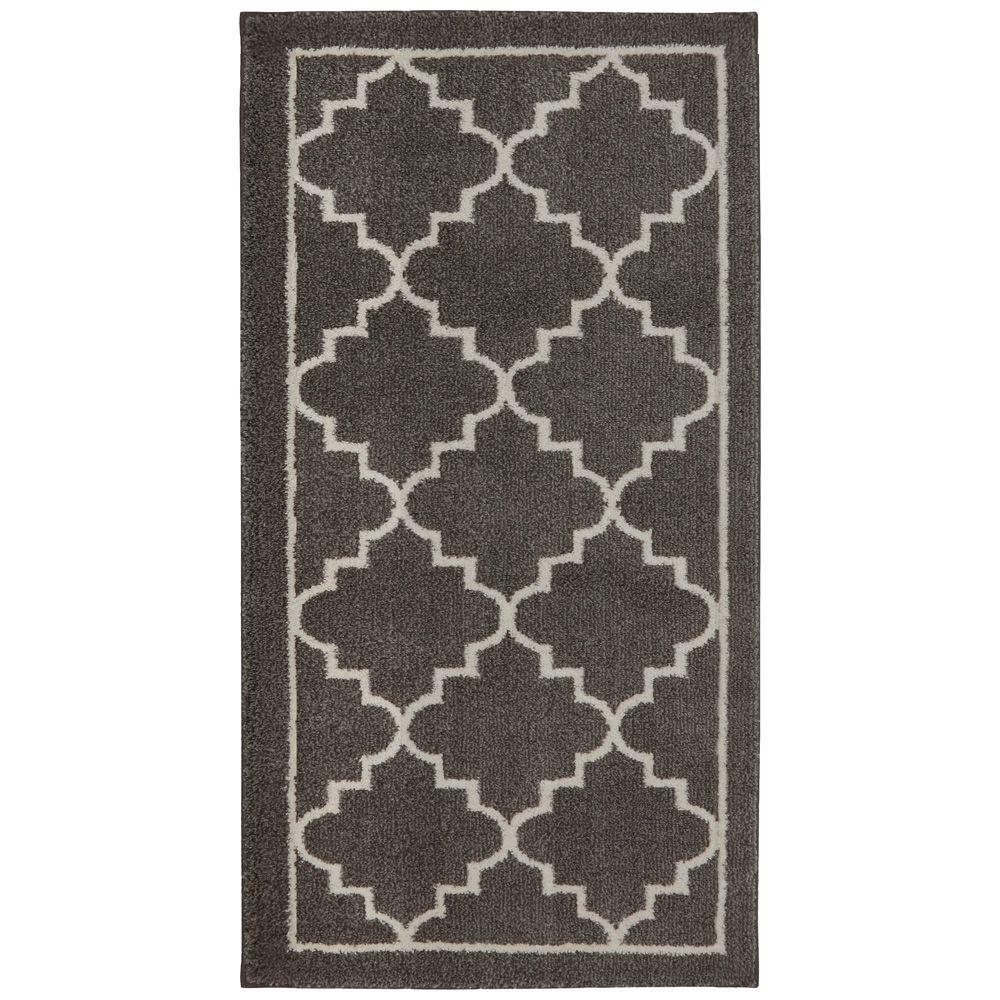 Washable Rugs Home Depot: Home Decorators Collection Winslow Walnut 2 Ft. X 4 Ft