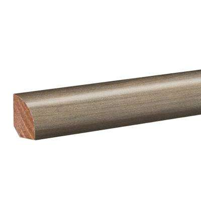 Harrington Acacia 0.62 in. Thick x 0.79 in. Wide x 94.5 in. Length Vinyl Quarter Round Molding