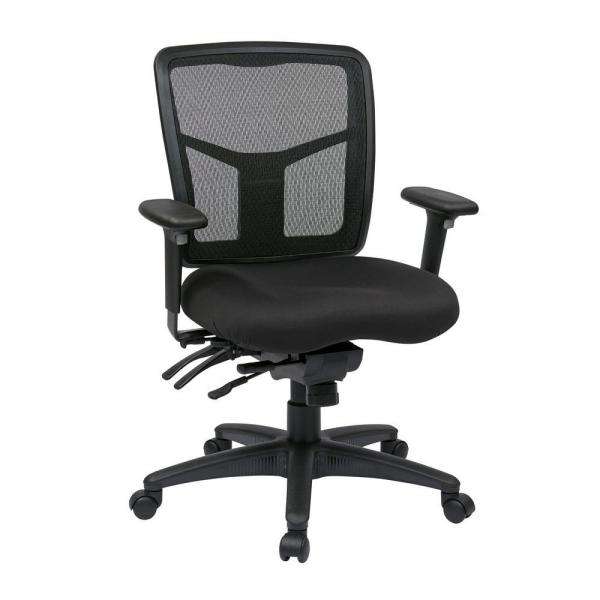 60786a82b Pro-Line II Coal FreeFlex Manager Office Chair 92893-30 - The Home Depot