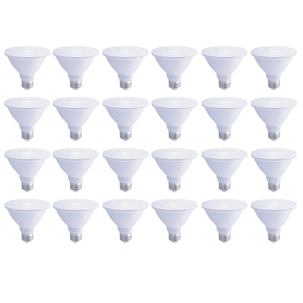 75-Watt Equivalent Par30 Dimmable Short Neck ENERGY STAR LED-Light Bulb Soft White (24-Pack)