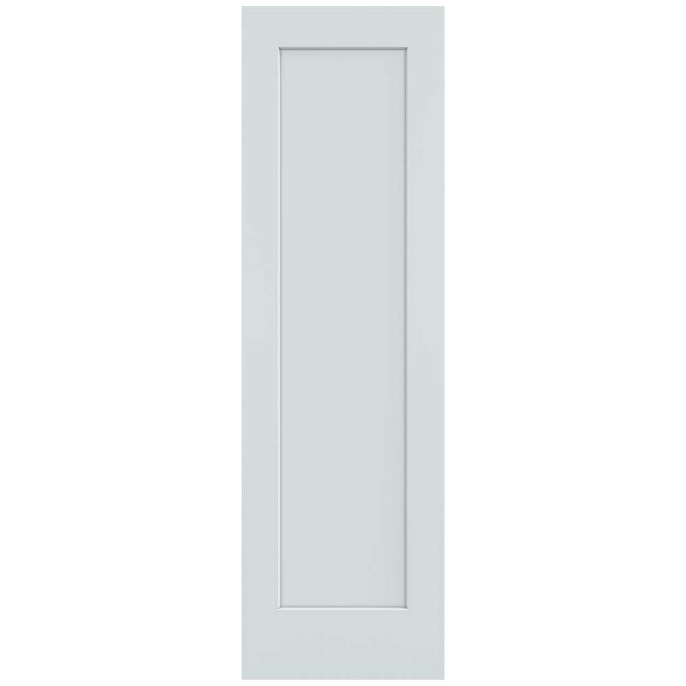 Jeld Wen 24 In X 80 In Madison Light Gray Painted Smooth