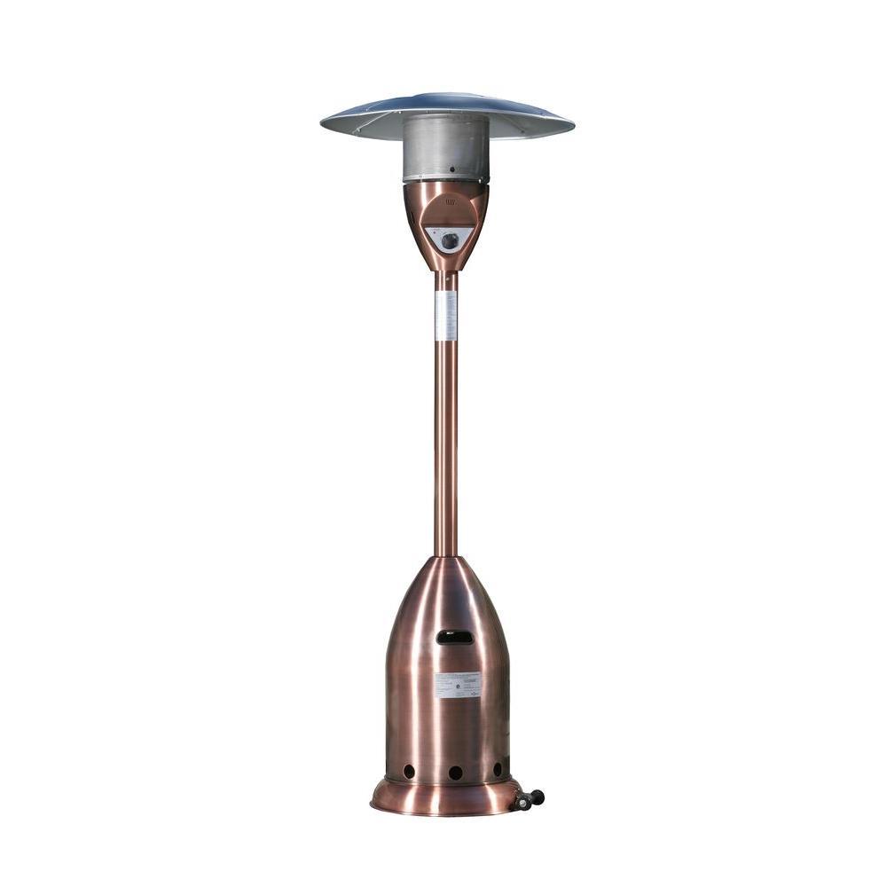 Fire Sense 47,000 BTU Copper Propane Gas Patio Heater
