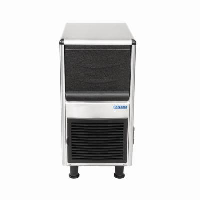 90 lbs. Freestanding Ice Maker in Stainless Steel