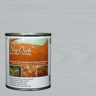 1 gal. Water-Based Tabitha Gray Infrared Reflective Wood Stain