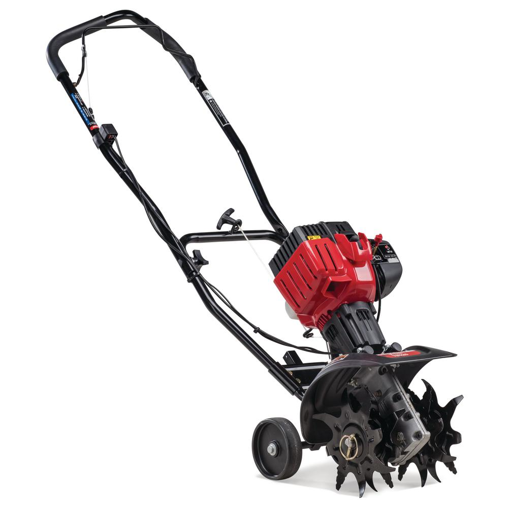 Troy-Bilt 9 in  25cc 2-Cycle Gas Cultivator with SpringAssist Starting  Technology