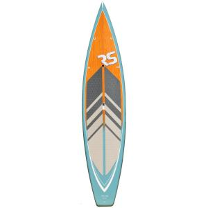 Click here to buy RAVE Sports Touring 11 ft.6 inch Stand Up Paddle Board in Pewter Blue by RAVE Sports.