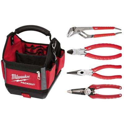 PACKOUT Tote With Pliers set (4-Piece)