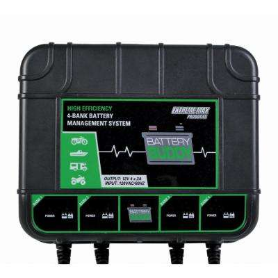 Battery Buddy 4-Bank Battery Charger/Maintainer