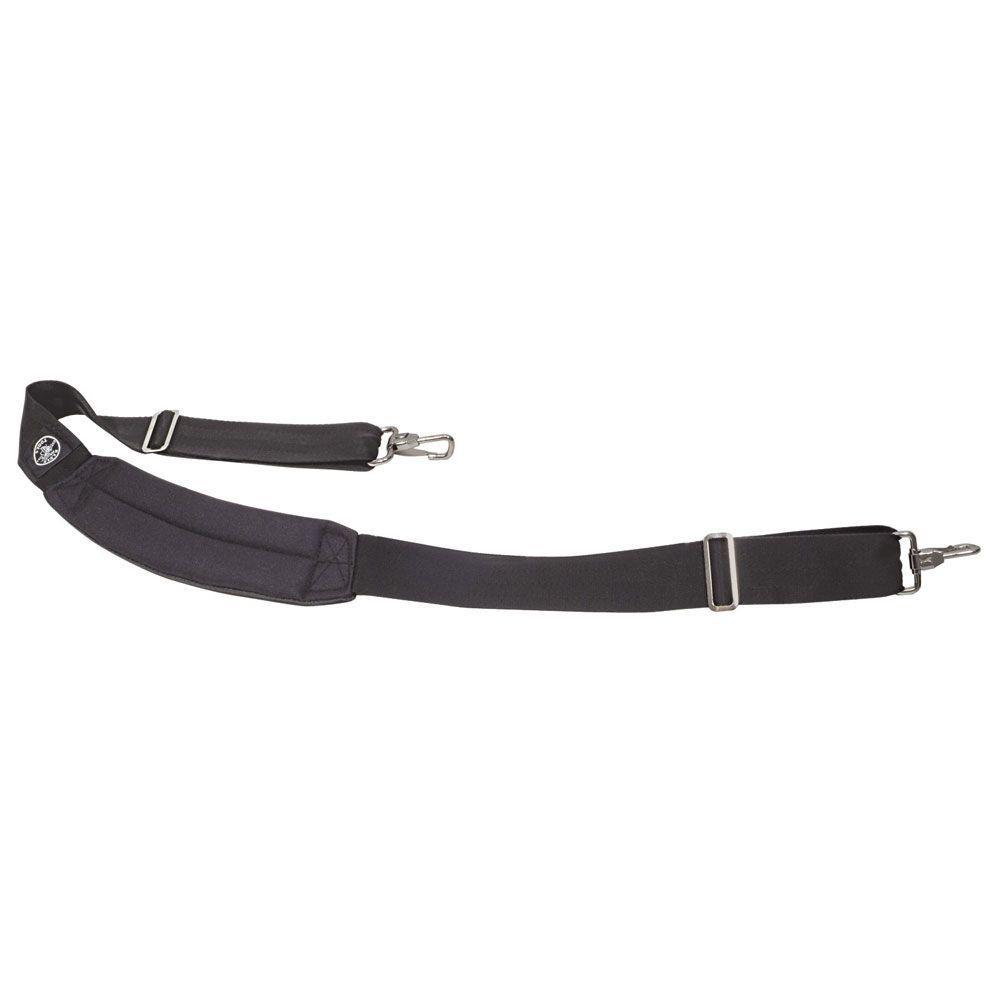 Black Padded Adjustable Shoulder Strap
