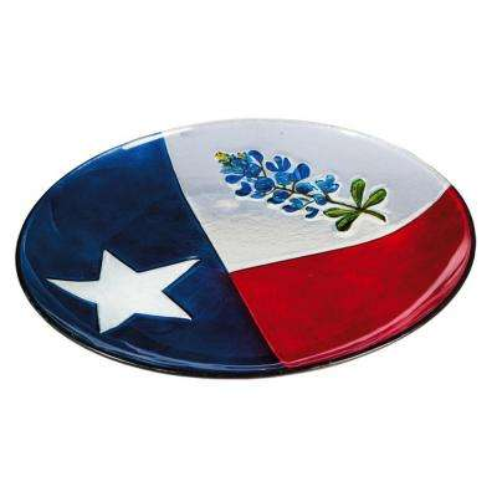 Texas State Flower 16 in. Birdbath with Stand